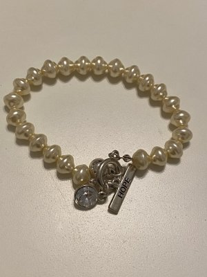 Pearl Bracelet cream-natural white