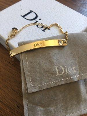 Dior Braccialetto sottile oro
