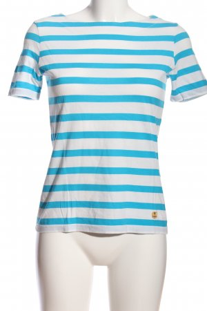 Armor Lux Stripe Shirt blue-white striped pattern casual look