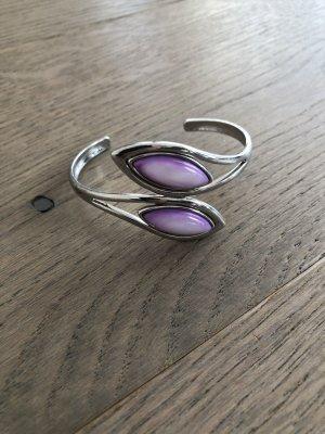 Bijou Brigitte Jonc argenté-violet