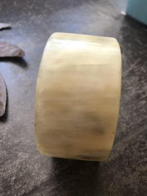 Bangle cream-beige