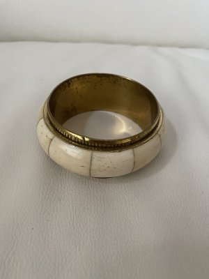 Bangle złoto-kremowy