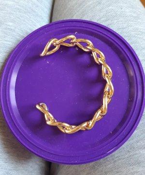 Asos Sztywna bransoletka złoto