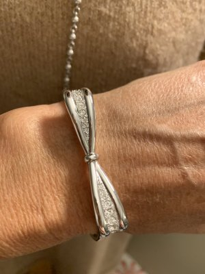 Pierre Lang Bangle zilver-wit