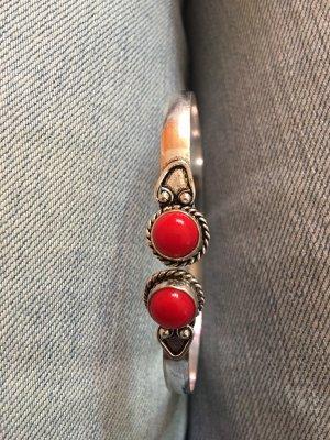 Armreif mit roten Stein ♥️