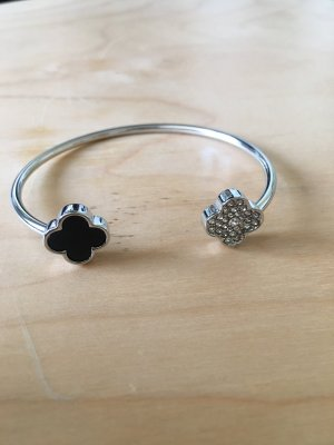 Bangle silver-colored-black