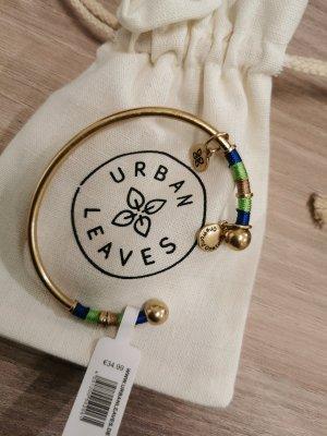 Urban Leaves Bracelet de bras doré
