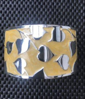 SYL Bangle yellow-silver-colored