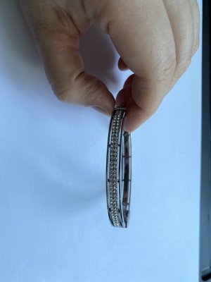 Fossil Bangle silver-colored