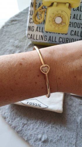 Fossil Armlet rose-gold-coloured