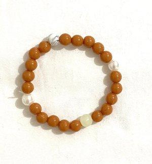 Armreifen elastische Perlen Vintage