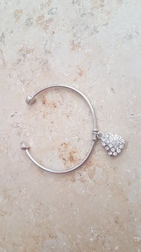 H&M Bangle silver-colored