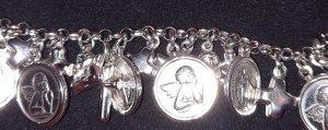 -8- Venice Bracelet en argent gris clair