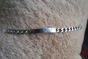 Vintage Bracelet en argent argenté métal