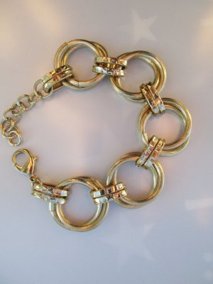 Bijou Brigitte Gold Bracelet gold orange