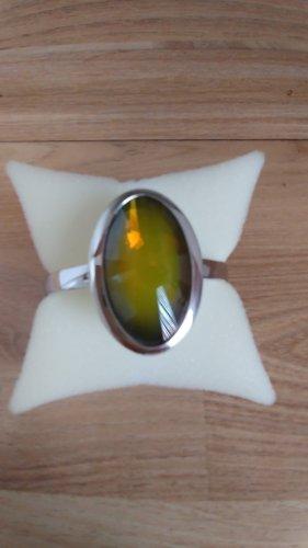 Pierre Lang Bracelet de bras argenté-jaune citron vert