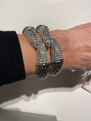Harald Glööckler Bracelet de bras argenté