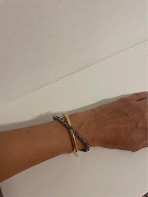 Swarovski Bracelet de bras noir-doré