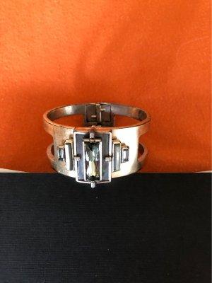 Dyrberg/Kern Sztywna bransoletka srebrny Metal