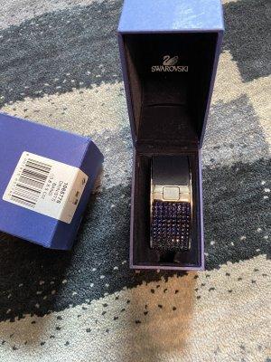 Swarovski Brazalete azul oscuro-violeta oscuro