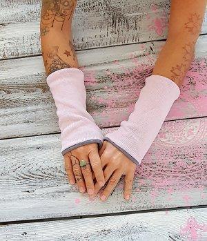 Ibiza Puño gris claro-rosa Algodón