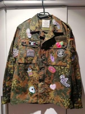 Militair jack veelkleurig