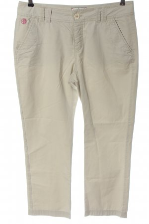 Arqueonautas 7/8 Length Trousers natural white casual look