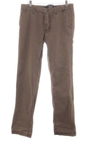 Arqueonautas Pantalon chinos gris brun style décontracté