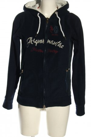 Arqueonautas Fleecejacke Motivdruck Casual-Look