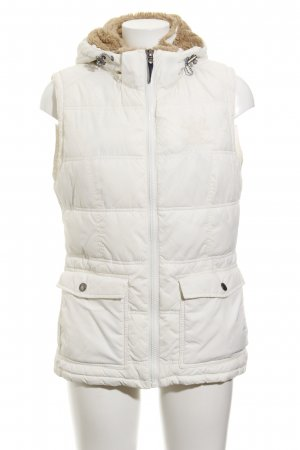 Arqueonautas Hooded Vest natural white casual look