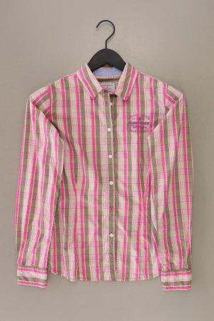 Arqueonautas Geruite blouse lichtroze-roze-roze-neonroos Katoen
