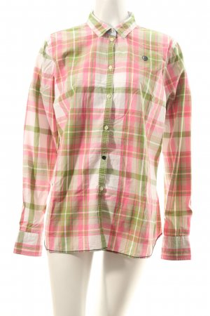 Arqueonautas Checked Blouse check pattern classic style