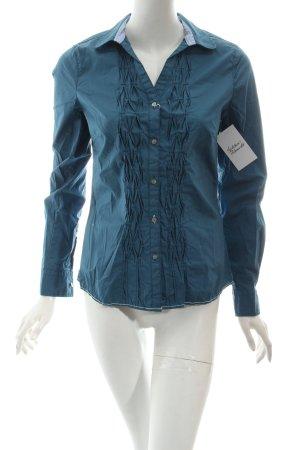 Arqueonautas Langarm-Bluse blau Casual-Look