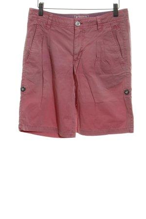 Arqueonautas Shorts rosa Schriftzug gedruckt schlichter Stil