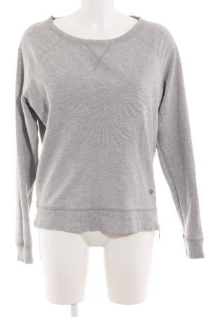 Arqueonautas Sweatshirt gris clair moucheté style décontracté