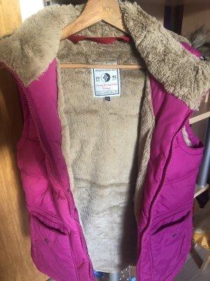 Arqueonautas Capuchon vest roze