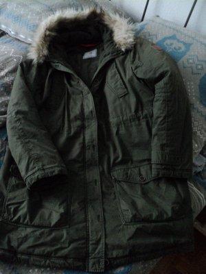 Arqueonautas Manteau d'hiver vert foncé