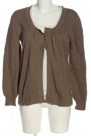 Arrival Fine Knit Jumper brown-natural white flecked casual look