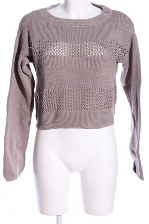 Arrival Coarse Knitted Sweater natural white casual look