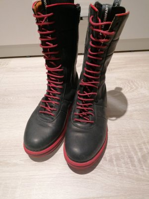 The Art Company Lace-up Boots black-dark red