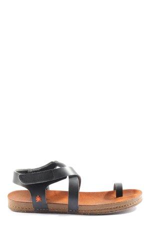 Art Sandales confort noir style décontracté