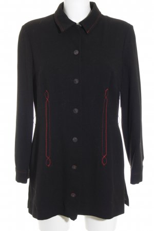 Art To Be Short Coat black-red classic style