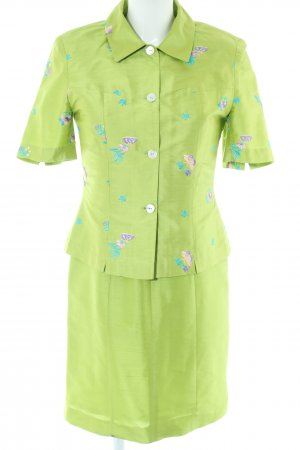 Art To Be Woven Twin Set green casual look