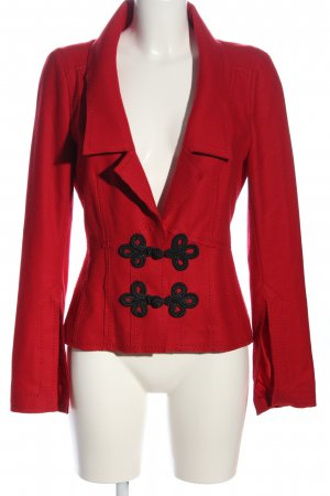 Art To Be Wollen blazer rood-zwart elegant