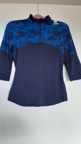Decathlon Maglietta sport blu scuro-blu