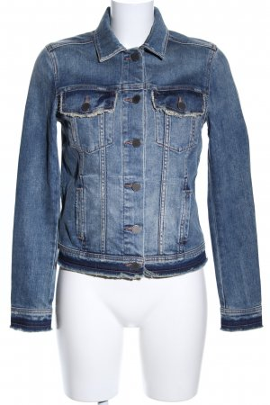 Articles of Society Jeansjacke blau Casual-Look
