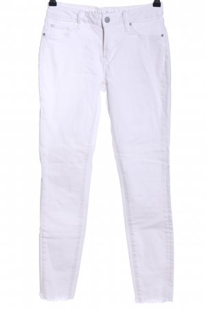 Articles of Society Skinny Jeans weiß Casual-Look