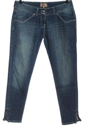 Artigli Jeans taille basse bleu style décontracté
