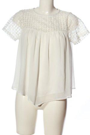 Artigli Short Sleeved Blouse white business style
