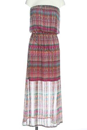 Artigli Sukienka maxi Graficzny wzór W stylu casual